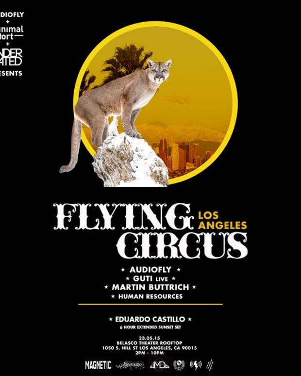 Flying Circus LA presented by Minimal Effort