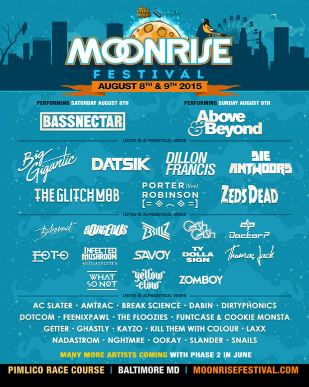 Baltimore's Moonrise Festival Announces Phase 1 Line Up