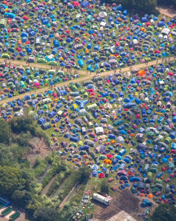 8 Stunning Aerial Photos You Need To See From Glastonbury