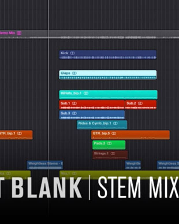Stem Mixing in Logic Pro X: Bass Management