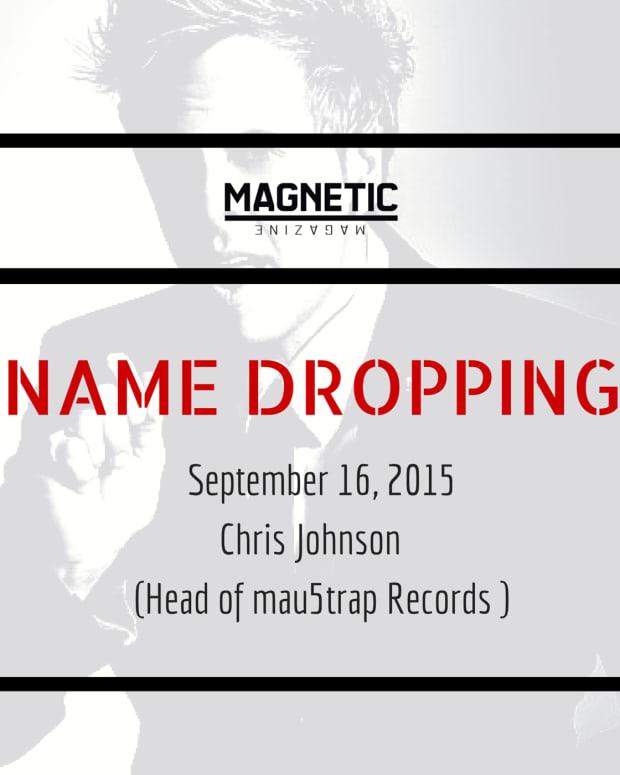 Name Dropping Podcast Chris Johnson