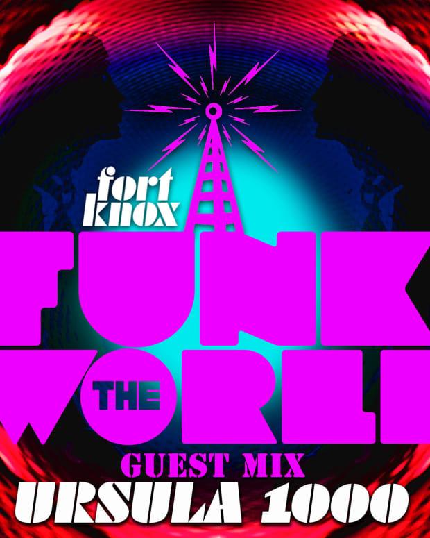 Funk The World Logo Ursula 1000