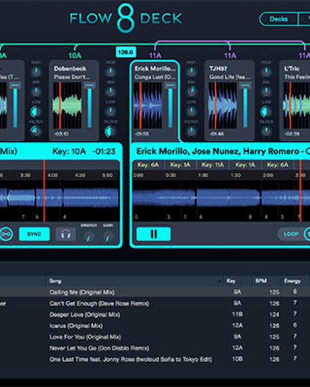 Flow 8 Deck Screen Image