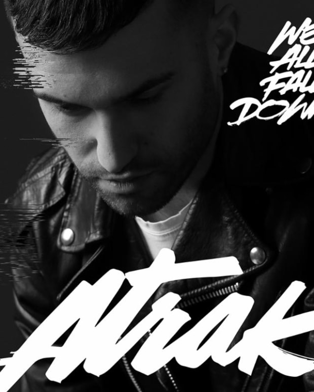 A-Trak We all fall down cover