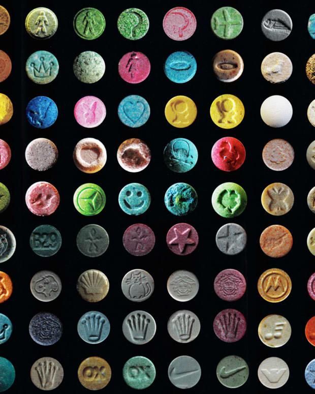 MDMA ecstacy pills