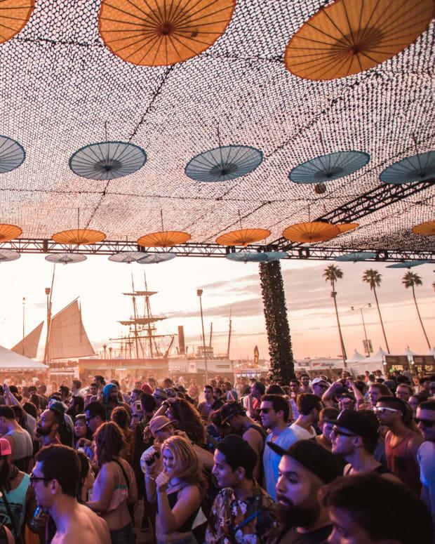CRSSD Fest Sunset