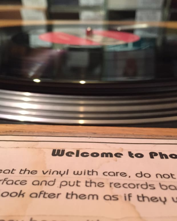 Phonica Record Player