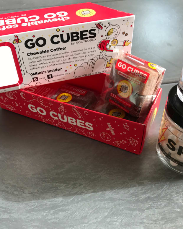 Go Cubes, Sprint and Yawn by Nootrobox