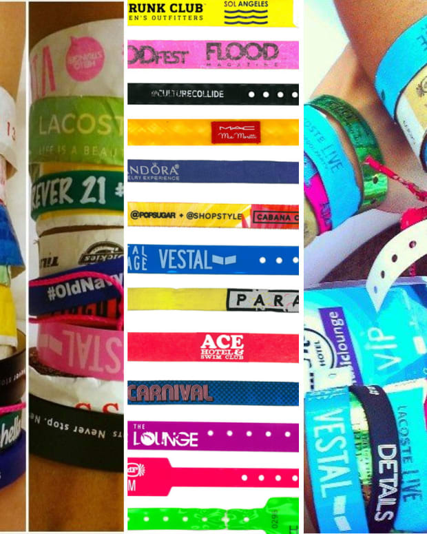 Fauxchella wristbands