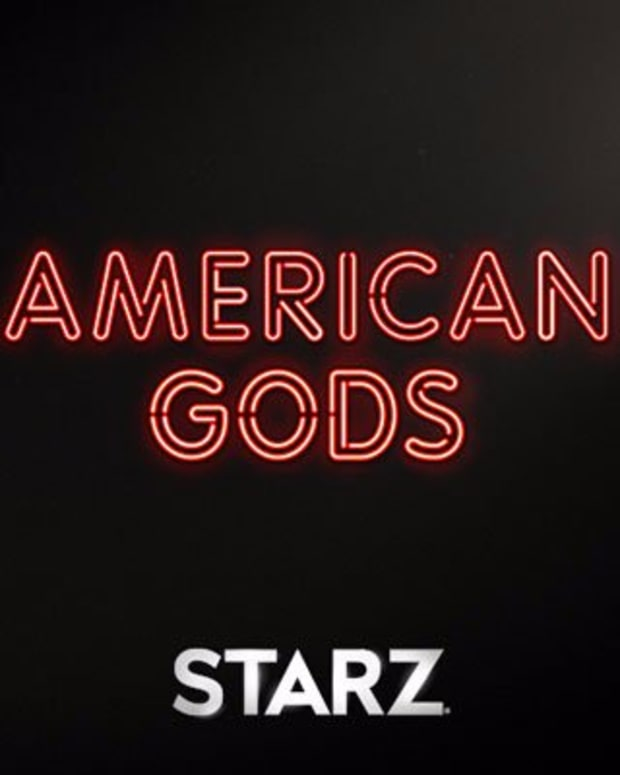 American Gods title treatment