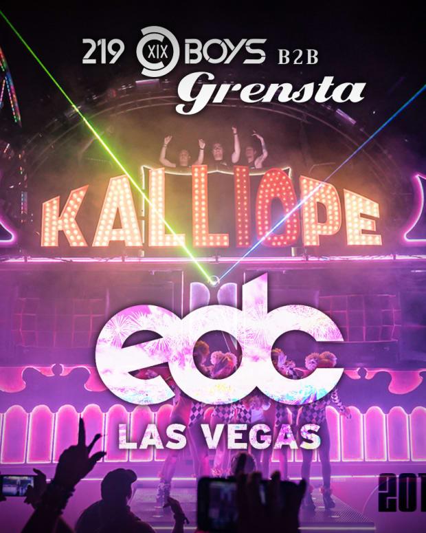 219 Boys B2B Grensta EDC Las Vegas 2017 Mix Cover