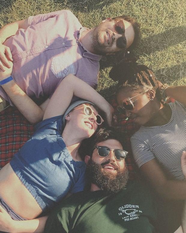 Pitchfork Music Festival 2017 Crowd