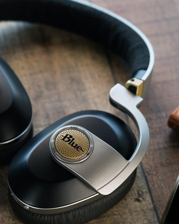 Blue Satellites Headphones