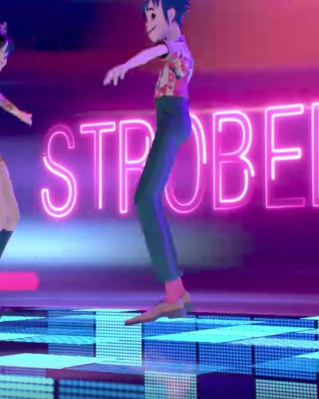 Gorillaz Strobelite Music Video