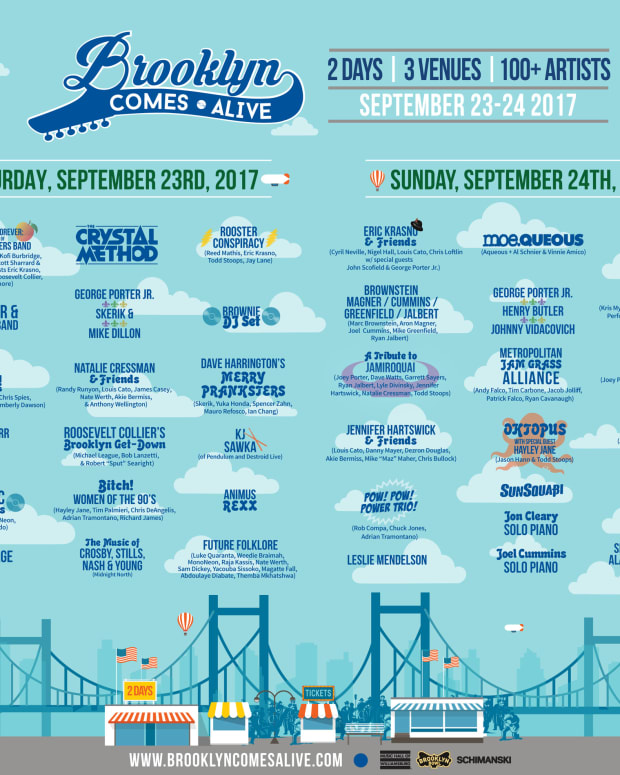 Brooklyn Comes Alive 2017 Festival Lineup