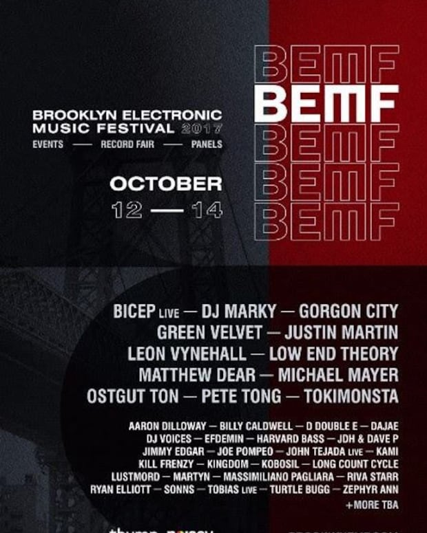 Brooklyn Electronic Music Festival 2017 Lineup