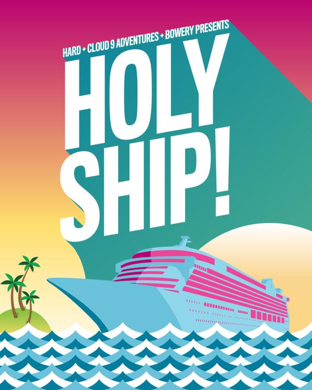 Holy Ship! Logo