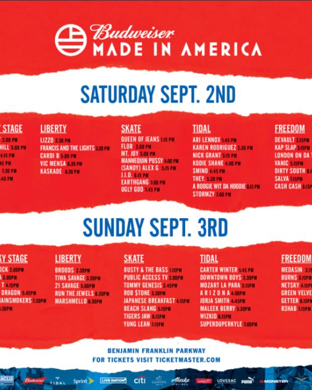 Made in America 2017 Live Stream