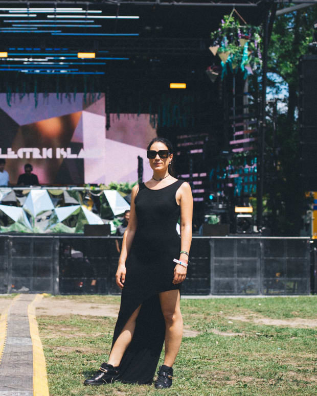 Lindsay Cabrera at Electric Island in 2016