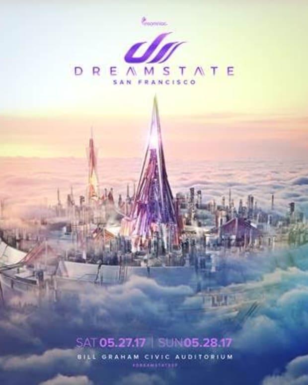 Dreamstate San Fransisco 2017 Flyer