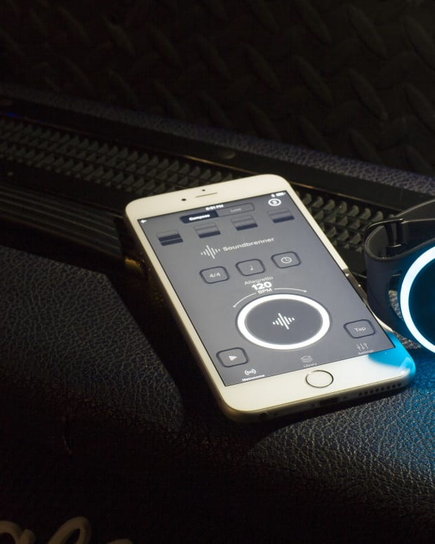 Soundbrenner Pulse and The Metronome