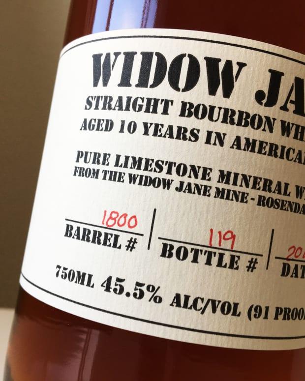 Widow Jane Barrell #1800, Bottle # 119