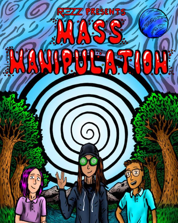 REZZ Mass Manipulation Comic Book
