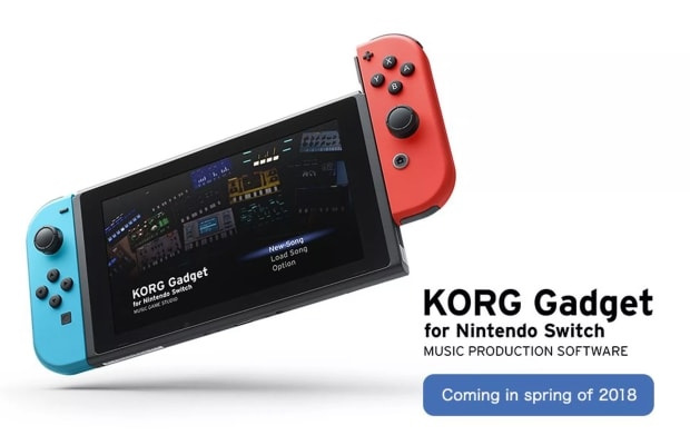 You'll be able to Write Music on the Nintendo Switch with Korg Gadget App