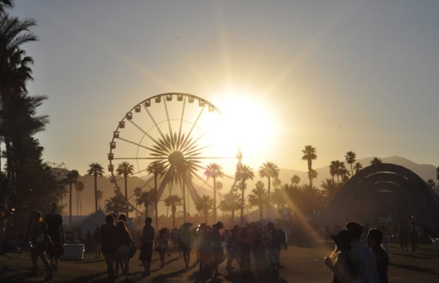 Taylor Swift Teases New Calvin Harris Music with Her Coachella Outfit