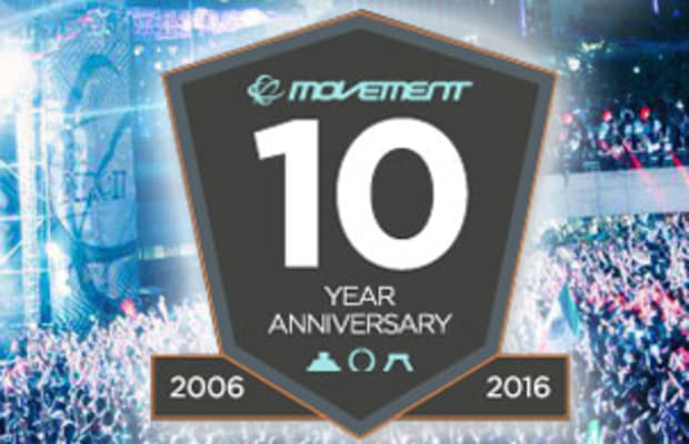 Movement Reveals Full Schedule for 10th Anniversary Festival