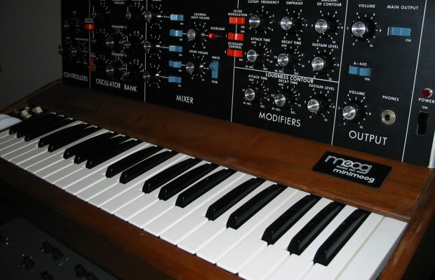 Moog Music Resumes Production of Minimoog Model D, World's First Portable Synthesizer