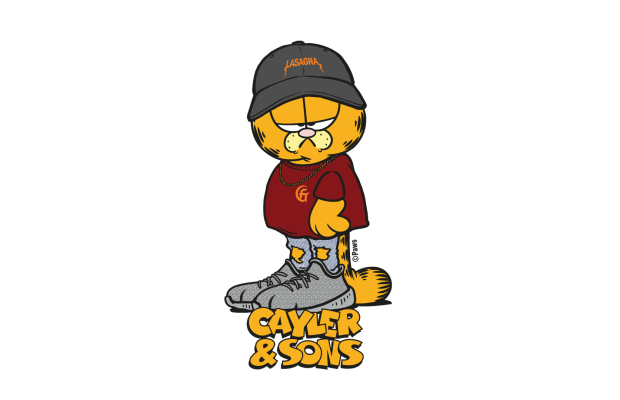 Garfield Is Back In Town With New CAYLER & SONS AW17 Collaboration