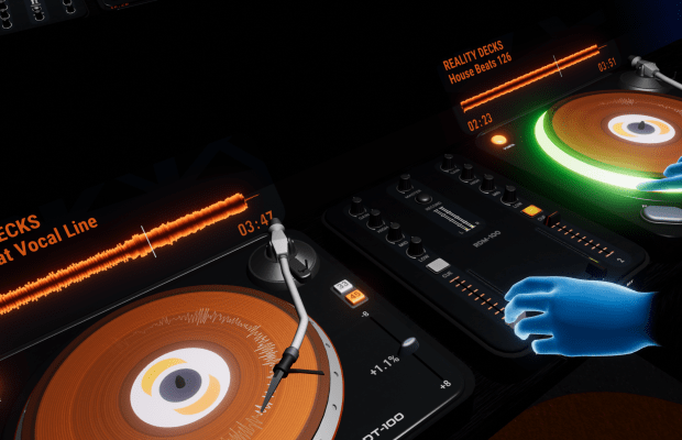 Become a Virtual Reality DJ with new Oculus Rift App, Reality Decks