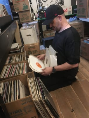 Frankie Bones Crate Digging Vinyl