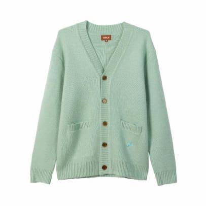 Golf winter 2018 sweater button
