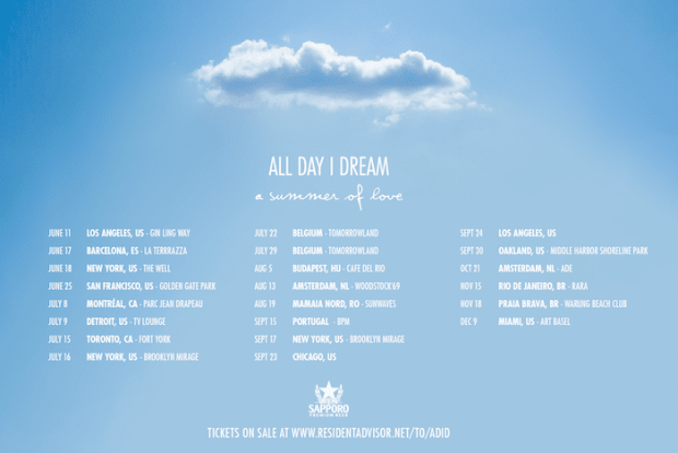 All Day I Dream Reveals Lineup For A Summer Of Love