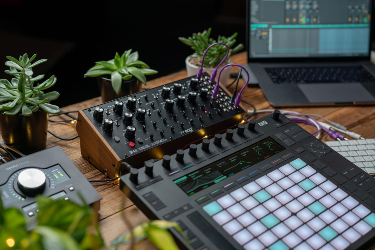 Moog Releases 5 Videos Using Ableton's CV Tools