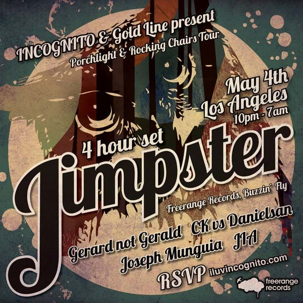 Porchlight Reservations: UK House Legend Jimpster Gracing LA's Underground For One