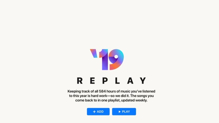 Apple Music Launches Replay To Recap Favorite Songs Over The Past year