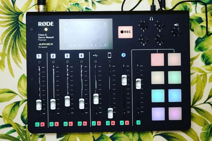 RØDECASTER Pro - The Perfect Piece Of Gear For All In One Podcast Production