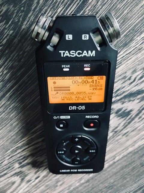 Tascam Recorder