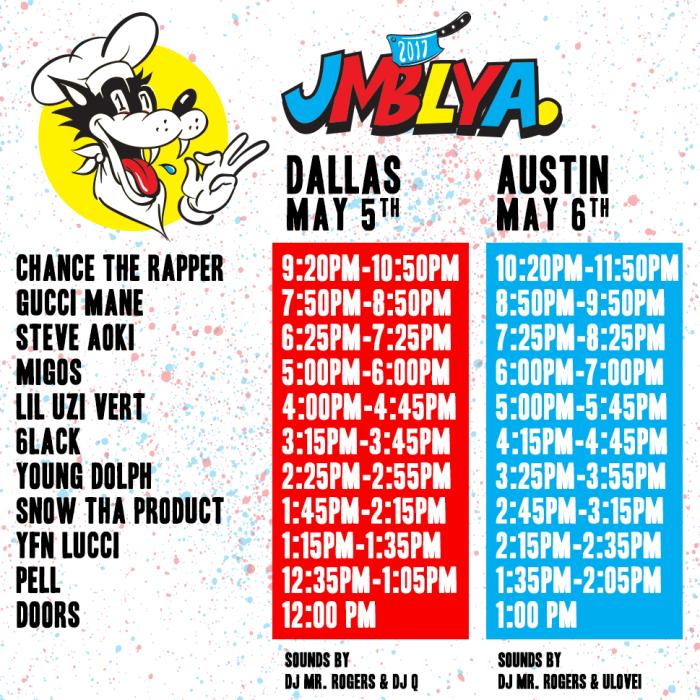Texas Event Intel: JMBLYA Fest Rappers Delight - Magnetic ...