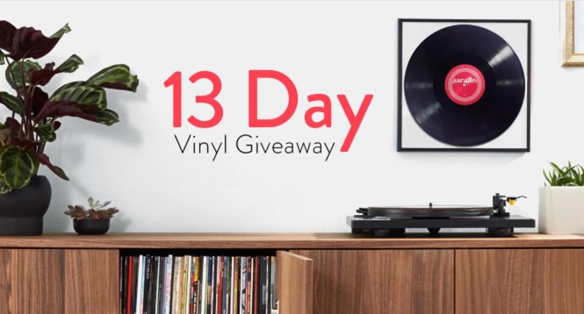 amazon vinyl giveaway