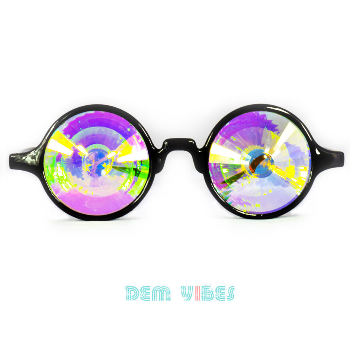 Dem Vibes Kaledoscope Glasses
