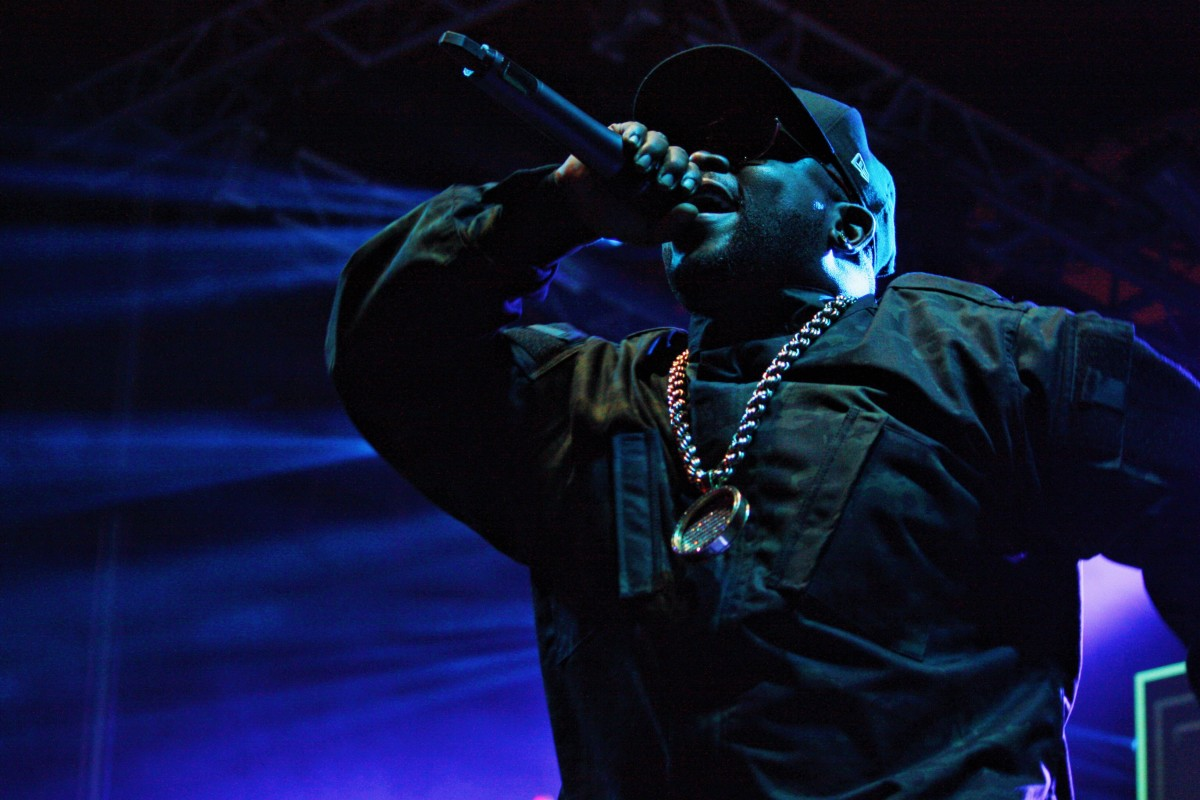 Big Boi back at Treasure Island - Photo by Will Houston
