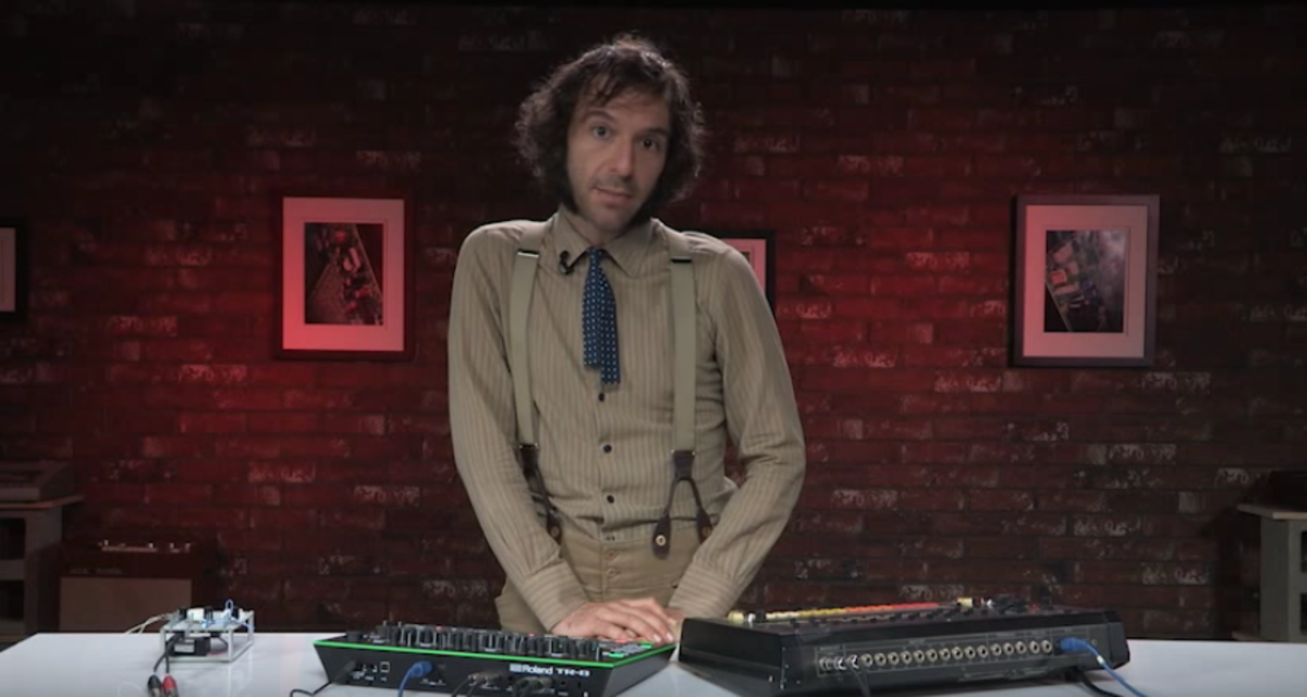 Daedelus tutorial for Roland TR-808 TR-8