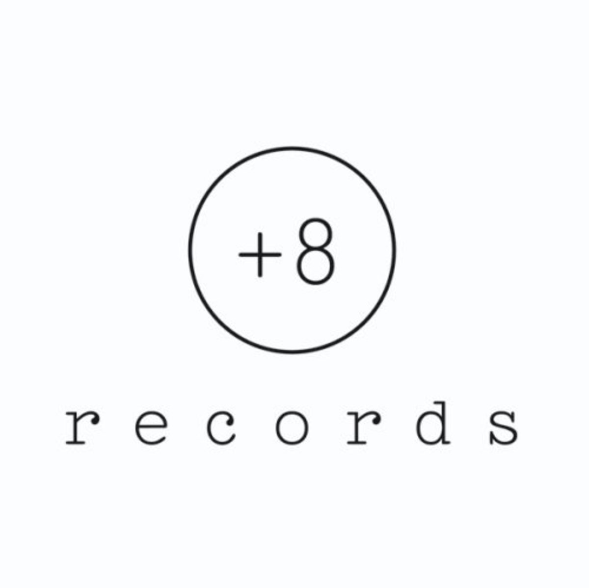 plus 8 records logo