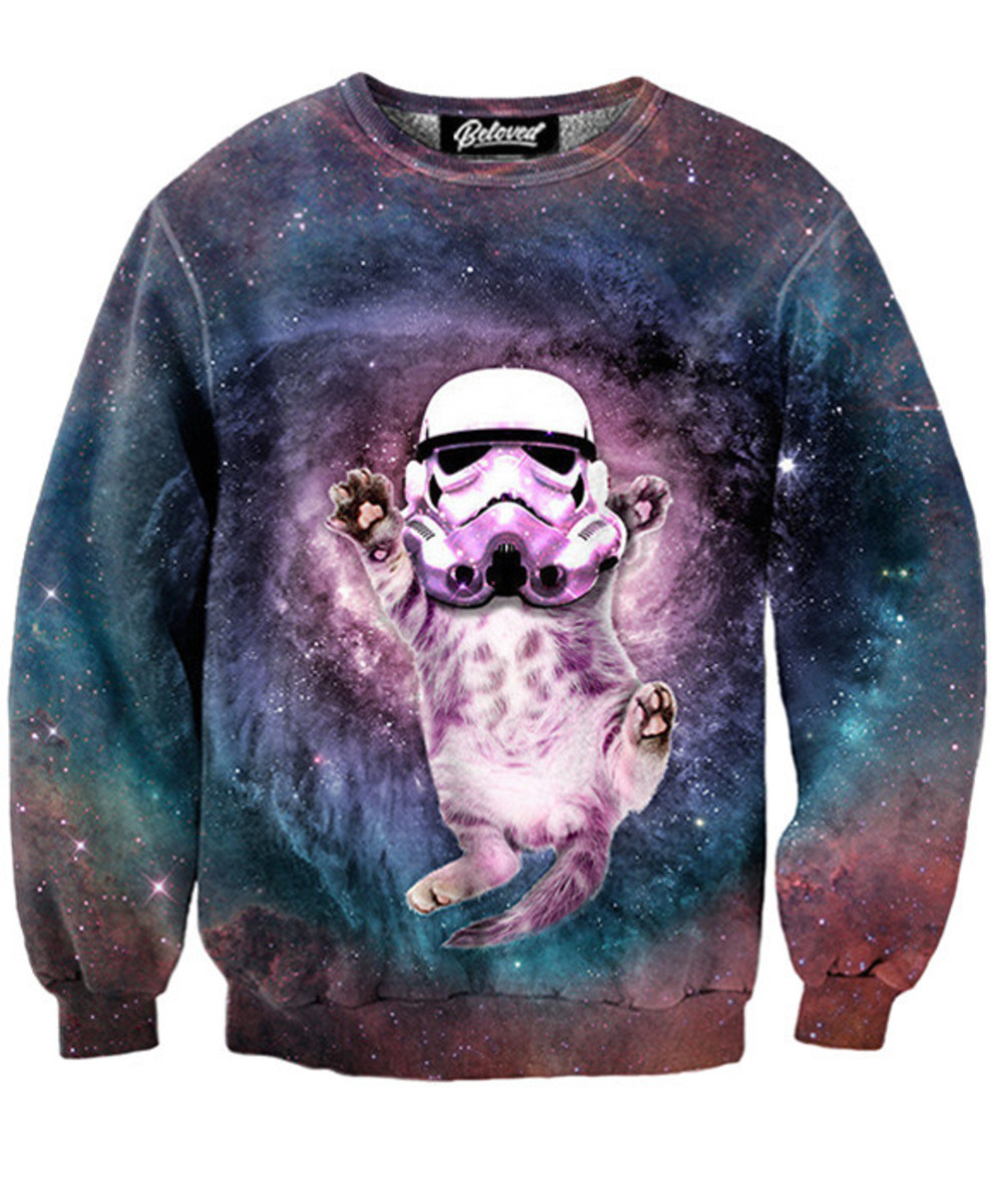 Cat Trooper Sweatshirt