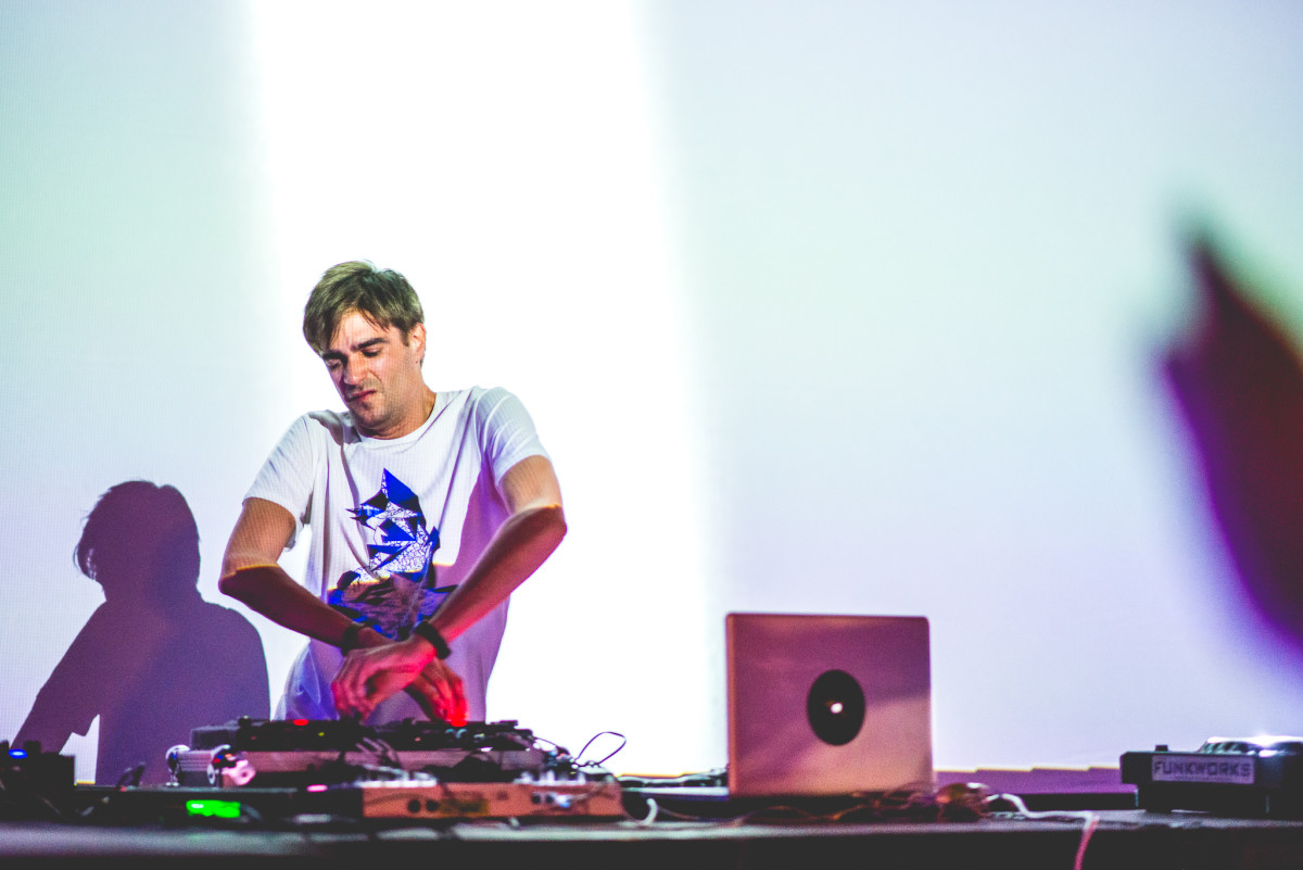 Jon Hopkins Ninja Tune 25th Anniversary Photo by Jennica Abrams