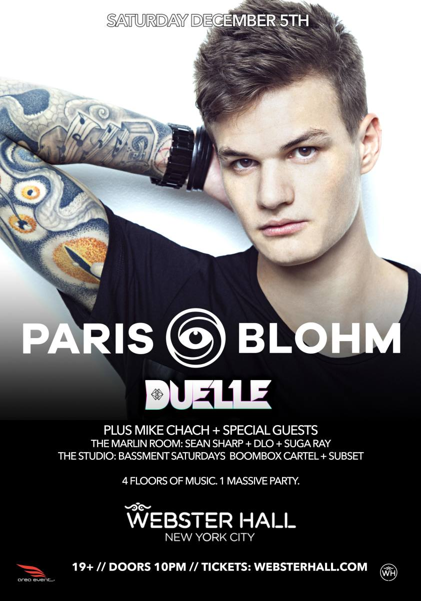 LA's Paris Blohm Headlines